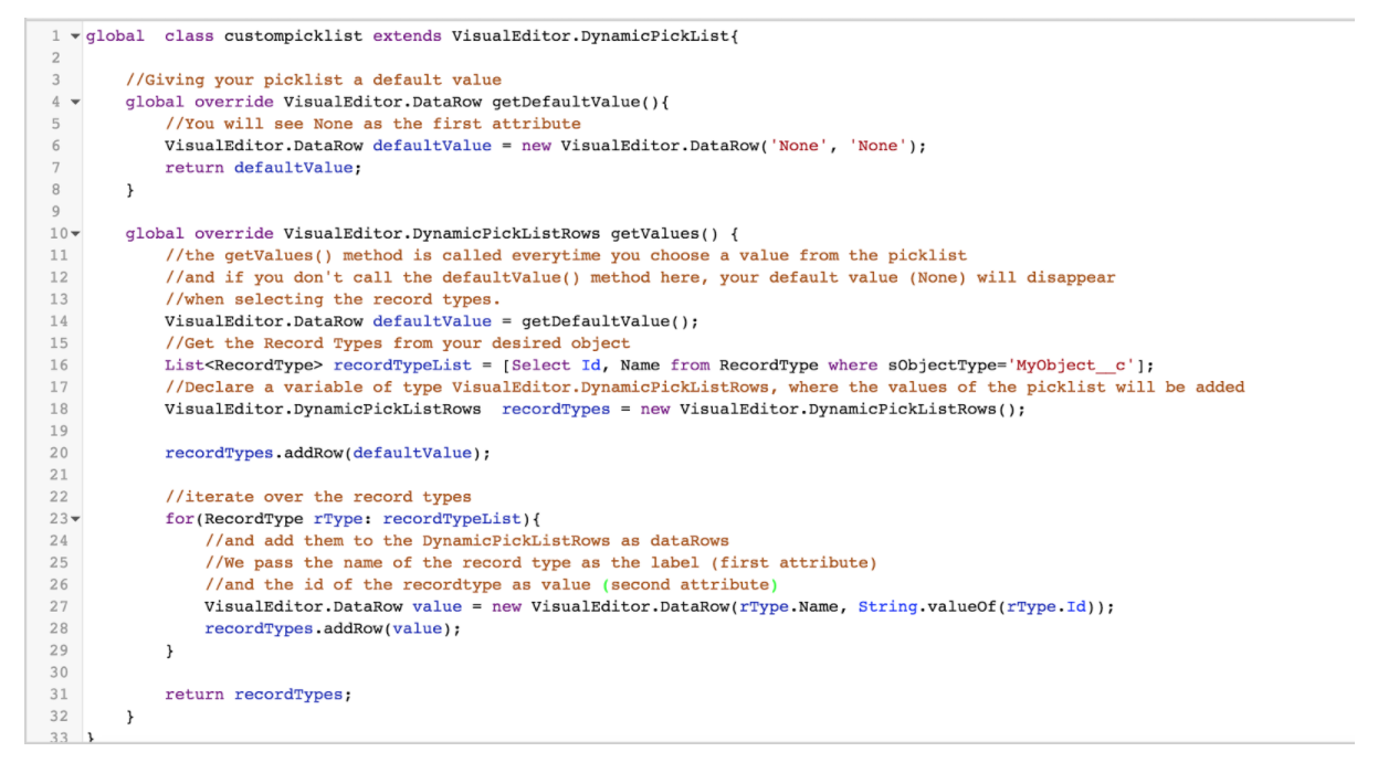 Salesforce Communities Tips: Dynamic Picklists as Builder attributes