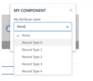 Salesforce Communities Tips: Dynamic Picklists as Builder